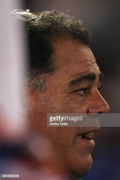 Mal Meninga coach of the World All Stars during the NRL All Stars match between the 2017 Harvey Norman All Stars and the NRL World All Stars at...