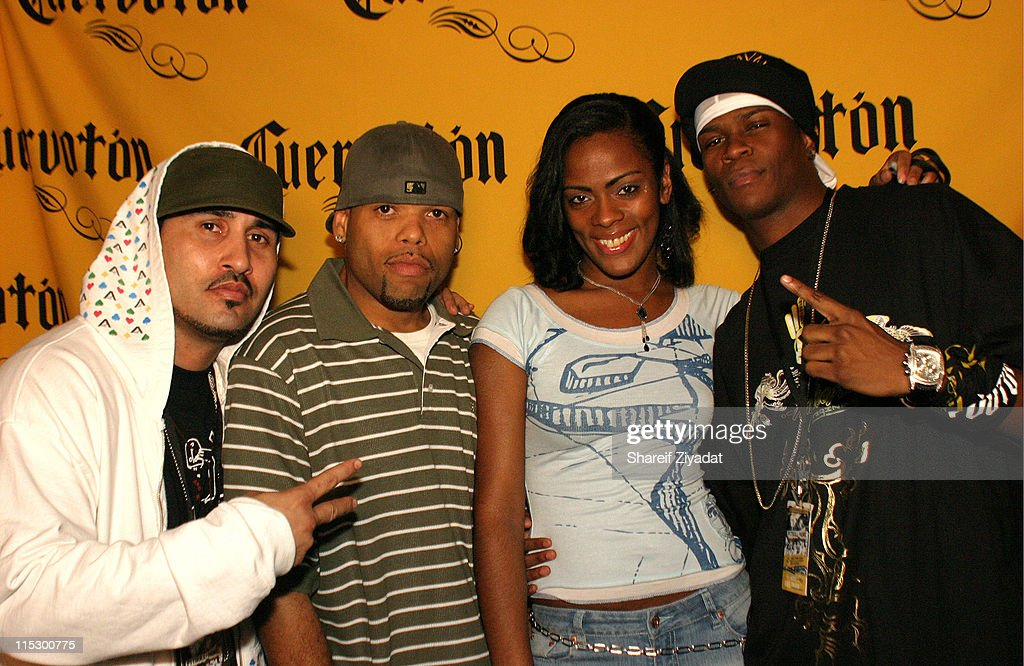 Mal Verde, Frankie Needles, and LDA during Pitbull and Nore Reggaeton Concert at Nokia Theater in New York - May 21, 2006 at Nokia Theater in New York City, New York, United States.
