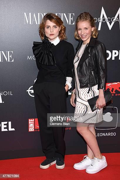 Mala Emde and Anna Lena Klenke attend the New Faces Award Film 2015 at ewerk on June 18 2015 in Berlin Germany