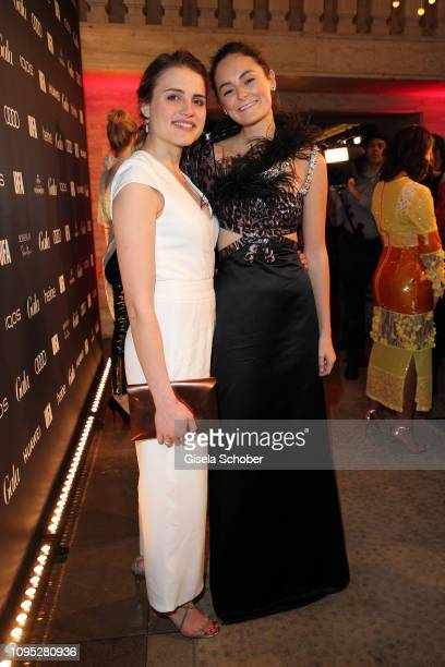 Mala Emde and Lea van Acken attend the Berlinale Opening Night by GALA UFA Fiction at Das Stue on February 07 2019 in Berlin Germany