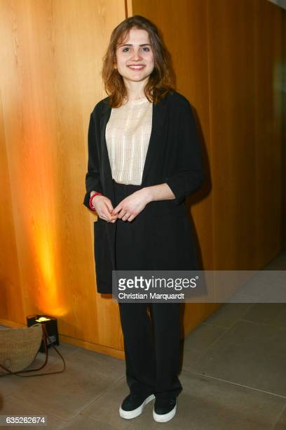 Mala Emde attends the Hessian Reception during the 67th Berlinale International Film Festival Berlin at on February 14 2017 in Berlin Germany