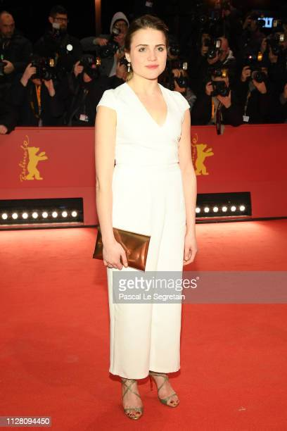 Mala Emde attends the opening ceremony and The Kindness Of Strangers premiere during the 69th Berlinale International Film Festival Berlin at...