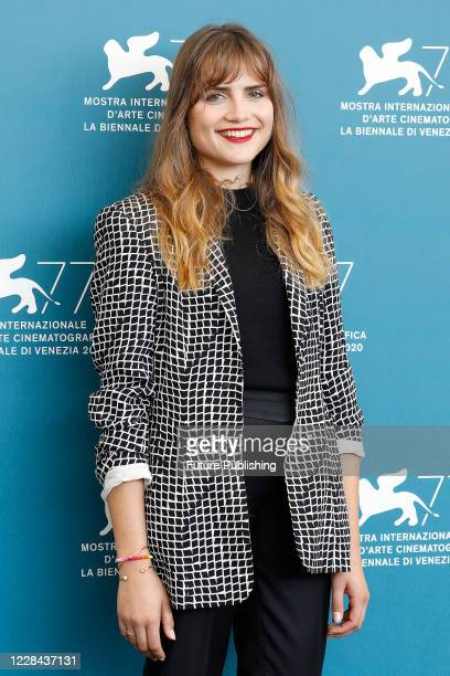 Mala Emde attends the photocall of 'Und Morgen Die Ganze Welt And Tomorrow The Entire World)' during the Venice Film Festival at the Palazzo del...