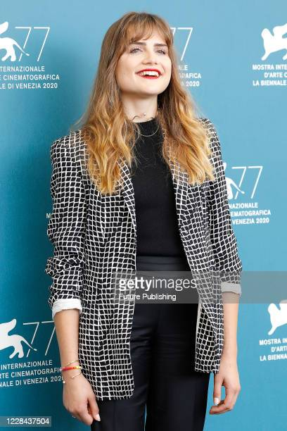 Mala Emde attends the photocall of 'Und Morgen Die Ganze Welt And Tomorrow The Entire World' during the Venice Film Festival at the Palazzo del...