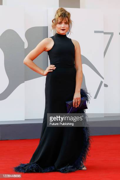 Mala Emde attends the red carpet of 'Und Morgen Die Ganze Welt And Tomorrow The Entire World' during the Venice Film Festival at the Palazzo del...