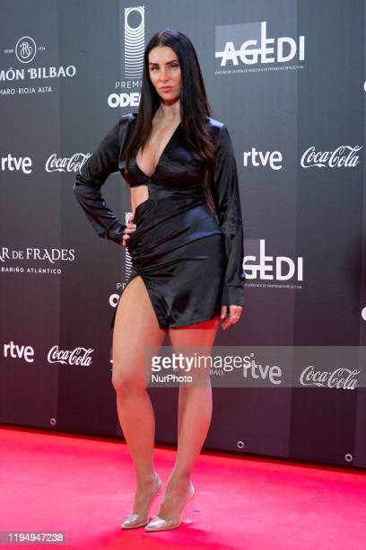 Mala Rodríguez pose for the photographers prior to the Odeon Music Awards gala at the Royal Theater in Madrid, Spain, 20 January 2020. The Odeon...