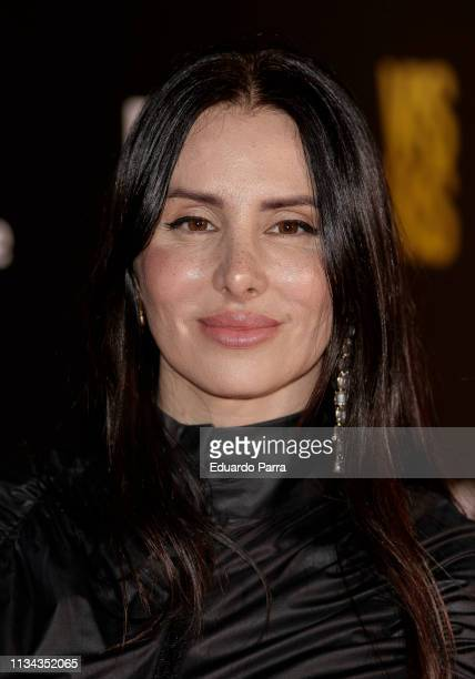 Mala Rodriguez attends Najwa Nimri And Mala Rodriguez Concert at Barceo Theatre on March 07, 2019 in Madrid, Spain.