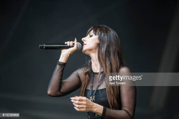 Mala Rodriguez performs in concert during day 3 of Festival Internacional de Benicassim on July 15, 2017 in Benicassim, Spain.