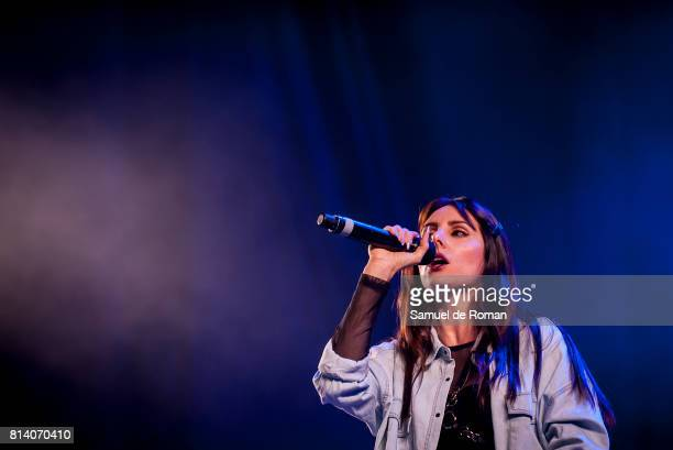 Mala Rodriguez performs in concert during Rio Babel Music Festival on July 13, 2017 in Madrid, Spain.