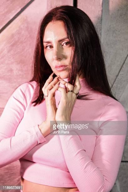Mala Rodriguez visits La Musica Studio on November 22, 2019 in Miami, Florida.