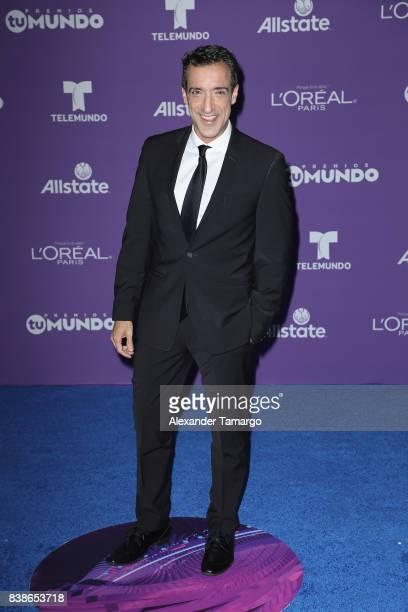 Mala Suerte arrives at Telemundo's 2017 'Premios Tu Mundo' at American Airlines Arena on August 24 2017 in Miami Florida