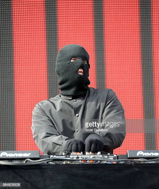 Malaa performs onstage during the Hard Summer Festival at Auto Club Speedway on July 30 2016 in Fontana California