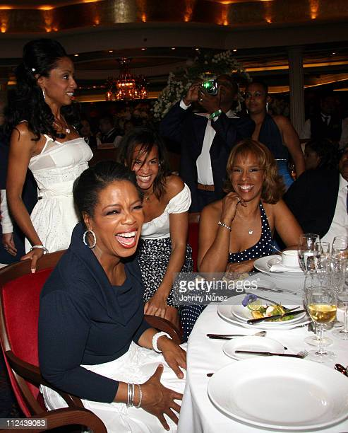 Malaak Rock Oprah Winfrey Erica Reid and Gayle King **Exclusive**