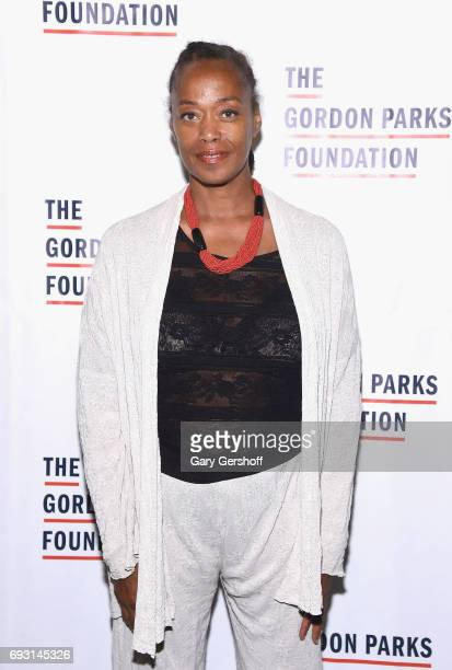 Malaak Shabazz attends the 2017 Gordon Parks Foundation Awards gala at Cipriani 42nd Street on June 6 2017 in New York City