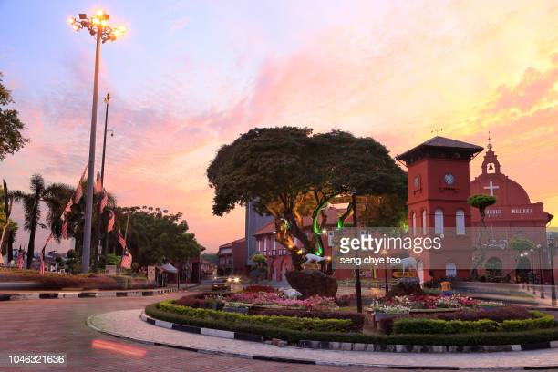 malacca scenery - melaka state stock pictures, royalty-free photos & images