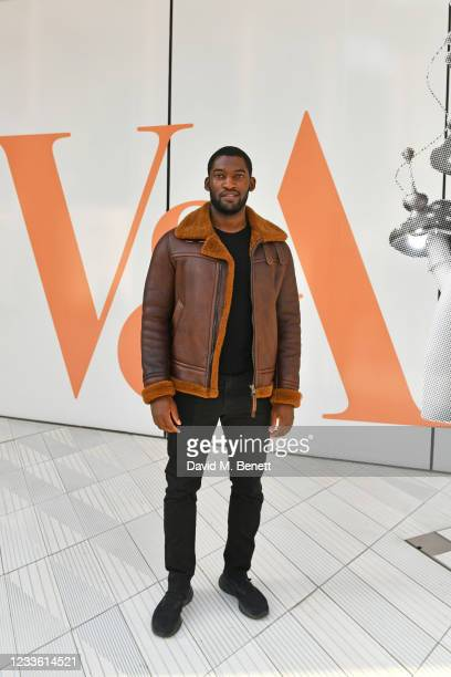 """Malachi Kirby attends a private view of """"Alice: Curiouser and Curiouser"""" at The V&A on June 23, 2021 in London, England."""