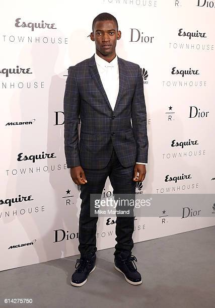 Malachi Kirby attends the Esquire Townhouse with Dior launch party on October 12 2016 in London England