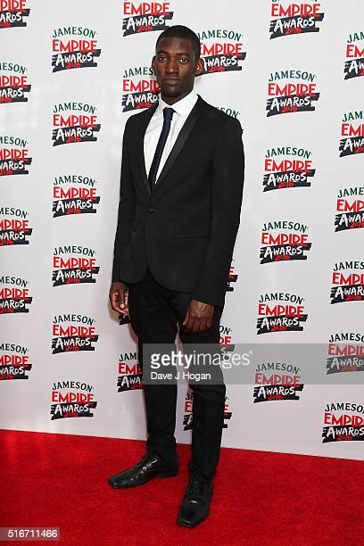 Malachi Kirby attends the Jameson Empire Awards 2016 at The Grosvenor House Hotel on March 20 2016 in London England