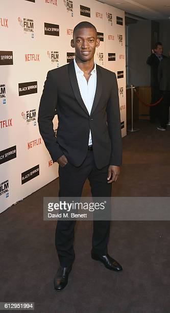 MAlachi Kirby attends the LFF Connects Television 'Black Mirror' event during the 60th BFI London Film Festival at Chelsea Cinema on October 6 2016...