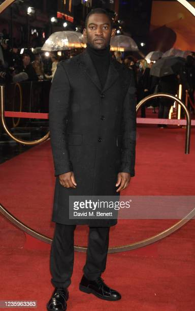 """Malachi Kirby attends the UK Special Screening of """"Dune"""" at the Odeon Luxe Leicester Square on October 18, 2021 in London, England."""