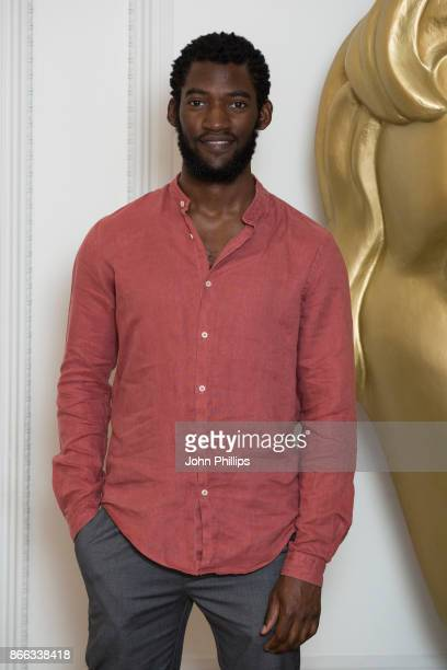 Malachi Kirby during the BAFTA Breakthrough Brits reception held at Burberry on October 25 2017 in London England
