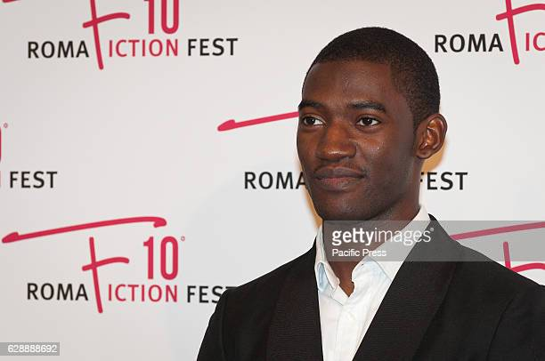 Malachi Kirby walking the red carpet of Roots during the 2nd day of Roma Fiction Fest