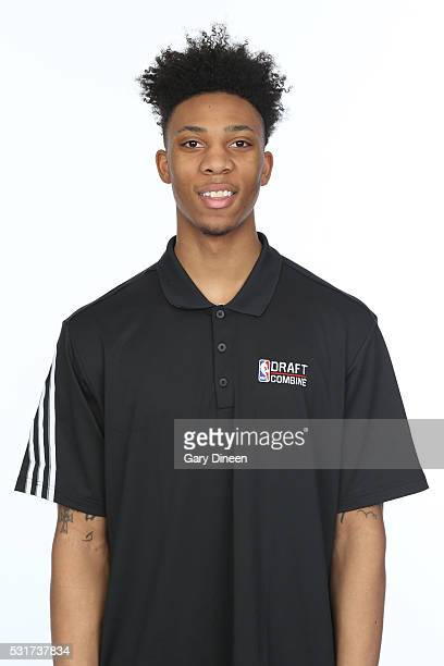 Malachi Richardson poses for a medical imaging head shot as part of the 2016 NBA Draft Combine on May 14 2016 at Northwestern Memorial Hospital in...
