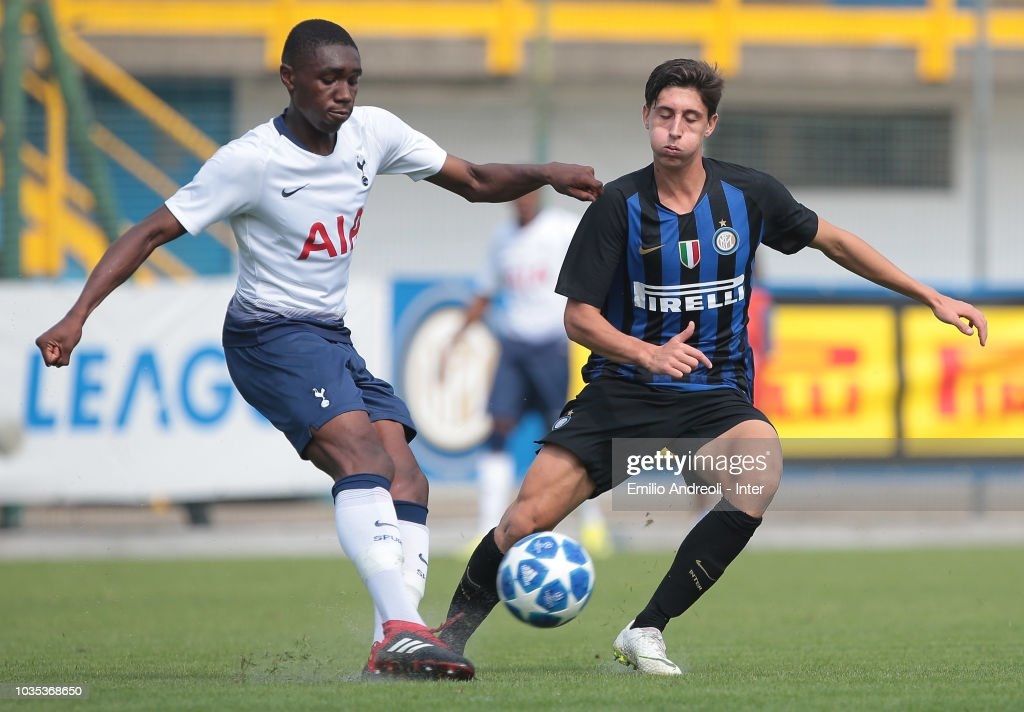 FC Internazionale v Tottenham Hotspur - UEFA Youth League