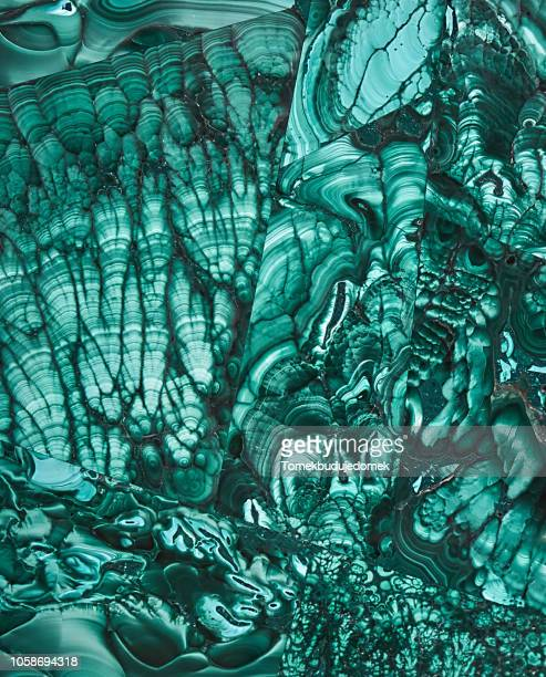 malachite - precious gemstone stock pictures, royalty-free photos & images