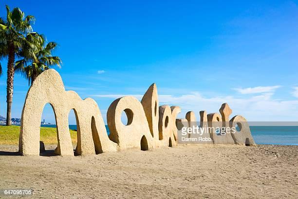Malaga Beach, 'La Malagueta', Costa del Sol, Spain