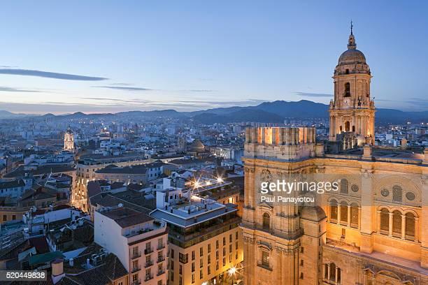 malaga cathedral, andalucia, spain - málaga málaga province ストックフォトと画像
