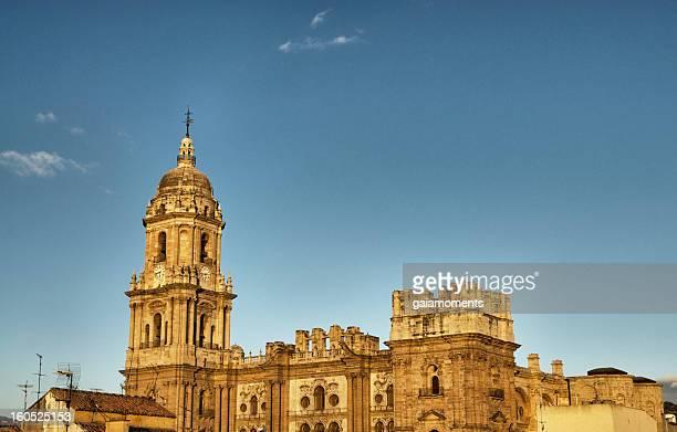 catedral de málaga - malaga fotografías e imágenes de stock