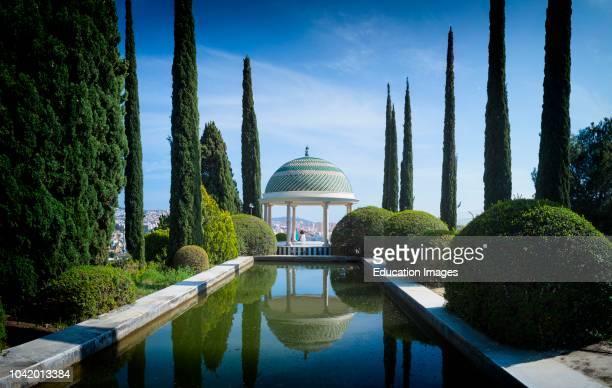 Malaga, Costa del Sol, Malaga Province, Andalusia, southern Spain El Jardin Botanico, Historico La Concepcion La Concepcion Historical-Botanical...