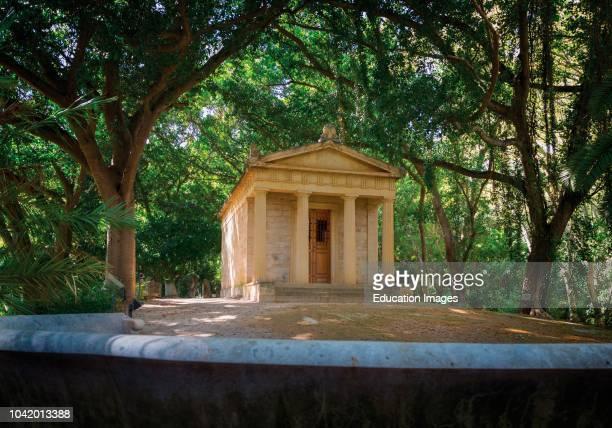 Malaga, Costa del Sol, Malaga Province, Andalusia, southern Spain El Jardin Botanico- Historico La Concepcion La Concepcion Historical-Botanical...