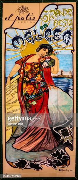 Malaga, Málaga, Spanien, ESP, Andalusien, al-Andalus, Zentrum an der Costa del Sol, historische Zentrum, Kathedrale, Alcazaba, Tapasbar, Tapa,...