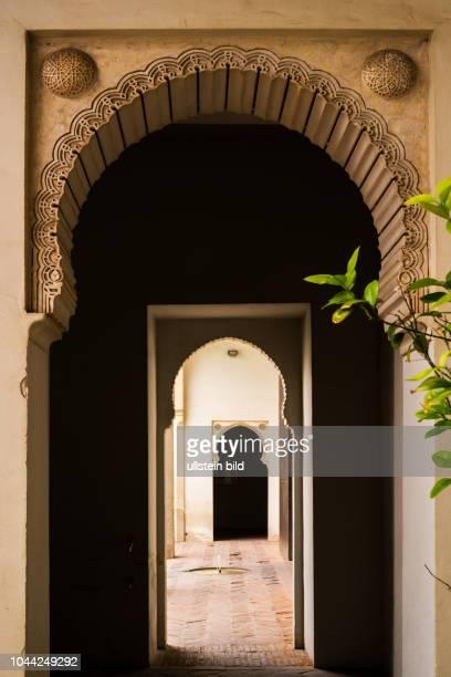 Malaga, Málaga, Spanien, ESP, Andalusien, al-Andalus, Zentrum an der Costa del Sol, historische Zentrum, Alcazaba, Festung, Festungsanlage, arabische...