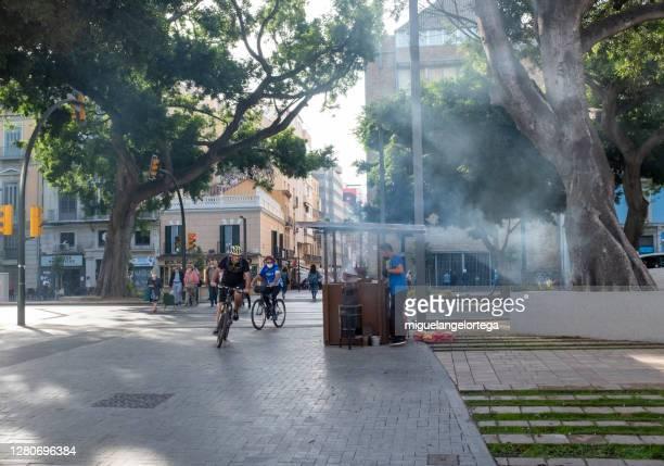 malaga urban scene - miguelangelortega fotografías e imágenes de stock