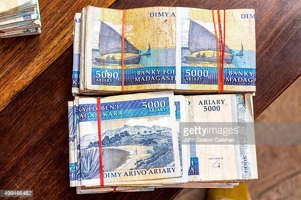 Malagasy Ariary banknotes