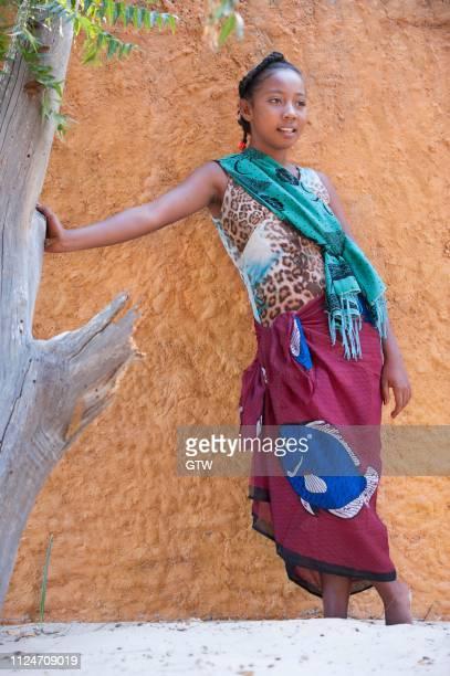Malagasy girl, 15-16 years, Morondava, Toliara province, Madagascar