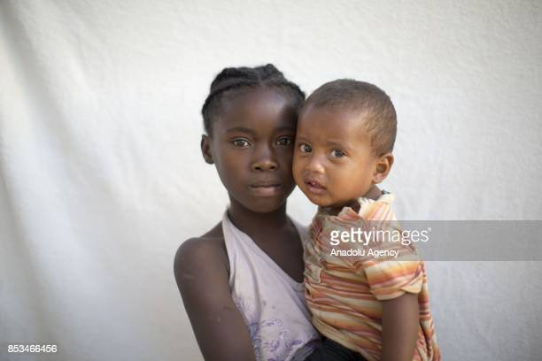 Malagasy girl Rebecca Rabenirina poses in Antananarivo Madagascar on September 24 2017 In Madagascar most of the girls with no education marry early...