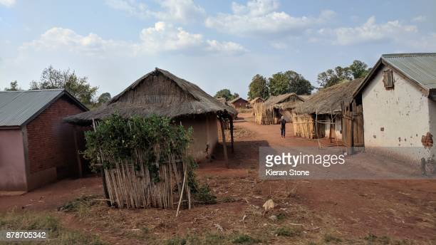 malagasy village - village stock pictures, royalty-free photos & images