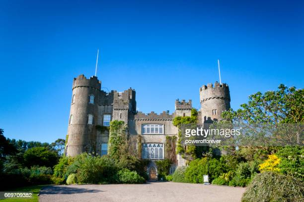 Malahide Castle in Malahide, County Fingal, Ireland