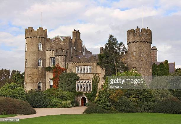 malahide castle - malahide stock photos and pictures