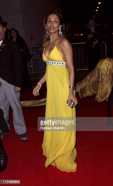 Malaika Arora during 2005 Zee Cine Awards at ExCeL in London Great Britain