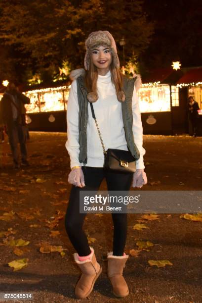 Malaika Firth attends the VIP launch of Hyde Park Winter Wonderland 2017 on November 16 2017 in London England