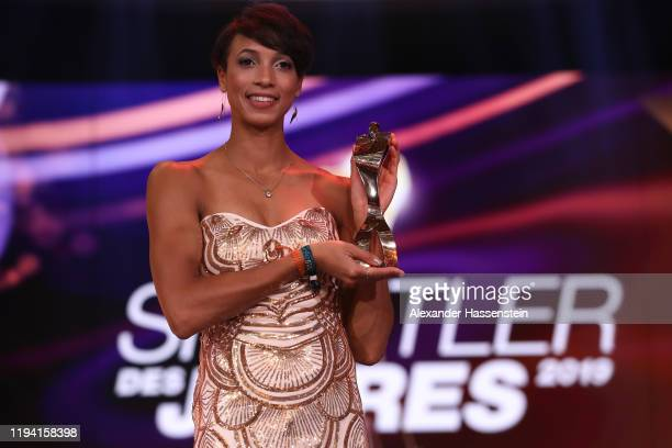 Malaika Mihambo is awarded as the female Sportler des Jahres Gala at Kurhaus BadenBaden on December 15 2019 in BadenBaden Germany