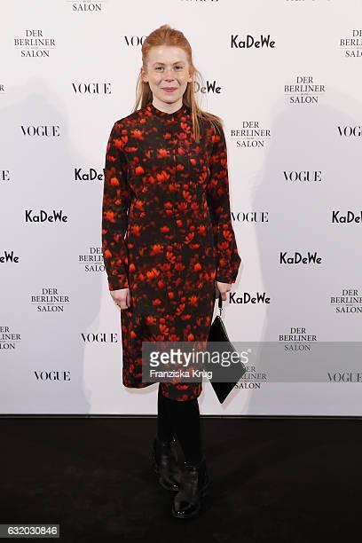 Malaika Raiss attends the celebration of 'Der Berliner Mode Salon' by KaDeWe Vogue at KaDeWe on January 18 2017 in Berlin Germany