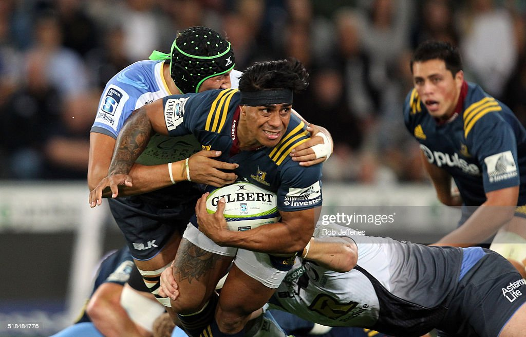 Super Rugby Rd 6 - Highlanders v Force