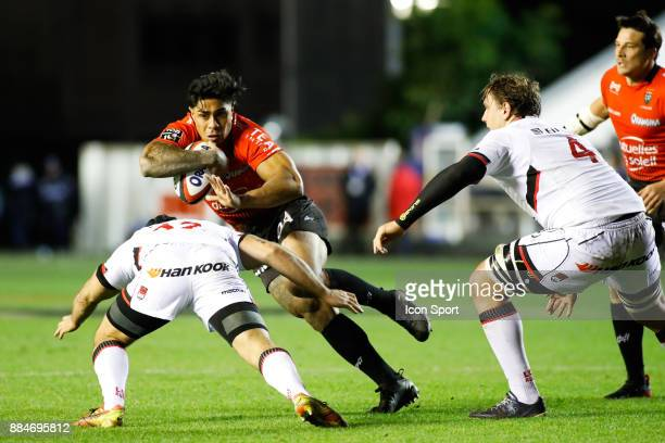Malakai Fekitoa of Toulon during the Top 14 match between Toulon and Lyon OU on December 2 2017 in Toulon France