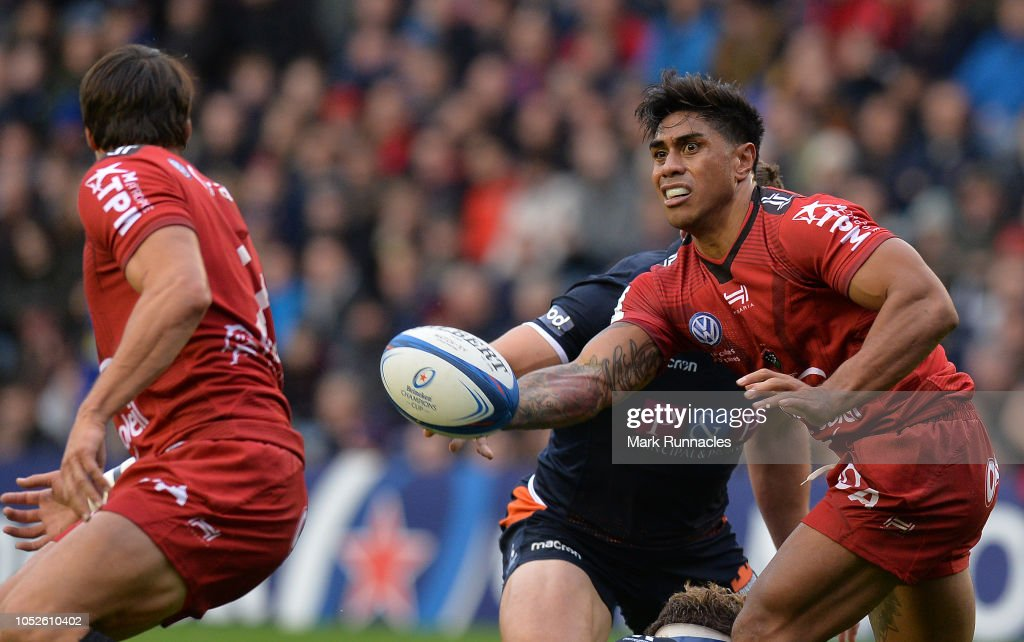 Edinburgh Rugby v Toulon - Heineken Champions Cup : News Photo